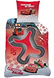 Wende Bettwäsche Set Disney Cars, 135 x 200 cm 80 x 80cm, Linon, CIRCUIT