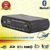 PAGARIA AV Media Player 720P, Bluetooth Music Receiver - Best Reviews Guide