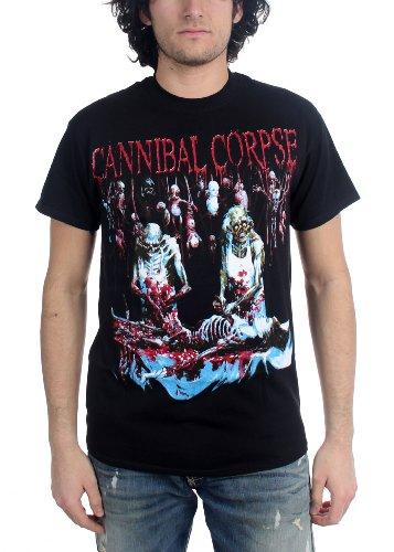 Cannibal Corpse-geschlachteten bei Geburt Erwachsene T-Shirt, Black, L -