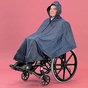 Wheelchair Poncho - Waterproof & Windproof Wheelchair Cover