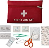 First Aid Bag Camping Hiking Sports Bag Bag for Travel Injuries & Emergencies - Pouch First Aid