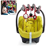 iDealhere Actividad de Cuna Espiral Bebé Colgando Decoración Juguete Peluche para Car / Pram / Cochecitos