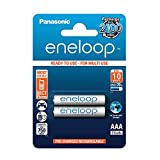 Panasonic eneloop AAA Ready-to-Use Micro NI-MH Akku BK-4MCCE/2BE (750 mAh, 2er Pack) -