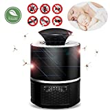 SZY Moskito Killer Elektrisch, Insektenvernichter UV Licht Insektenlampe Mückenlampe mit Ventilator Gerät Insekt Fängt Mückenvernichter Mückenfalle, Ohne Chemie, geruchsneutral, Lichtsensor