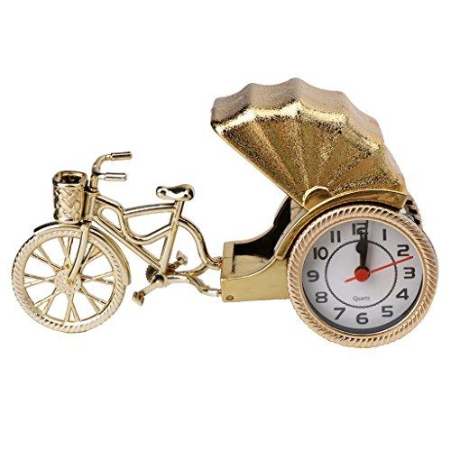 Exing Creative Retro Klassische Wecker Glocke Bell Dreirad Zubehör-Deko Haus Geschenke
