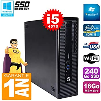 HP PC ProDesk 600 G1 SFF Core i5 – 4570 RAM 16 GB 240 GB SSD ...