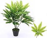 kunstpflanzen-discount.com Marijuana Kunstbaum aus PE Material Gefühlsecht mit 120cm - künstliche Hanf Pflanze