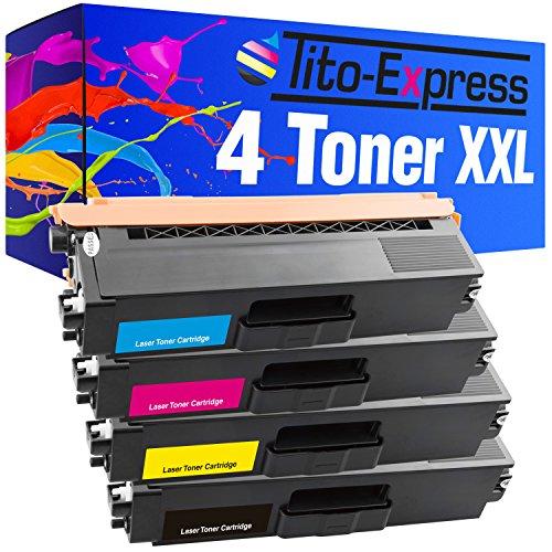 Tito-Express PlatinumSerie 4 Laser-Toner XXL kompatibel mit Brother TN-321 TN-326 | geeignet für DCP-L8400 DCP-L8450 HL-L8250 HL-L8350 MFC-L8600 MFC-L8650 MFC-L8850 (Brother Toner-l8600cdw)