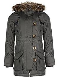 Minx - Filles - Manteau parka à capuche bordure fourrure synthétique 'Wendy 1' Original Premium