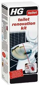 HG Kit de rénovation de toilettes