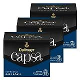Dallmayr Capsa Espresso Dark Roast, Nespresso Kapsel, Kaffeekapsel, Espressokapsel, Röstkaffee, Kaffee, 30 Kapseln