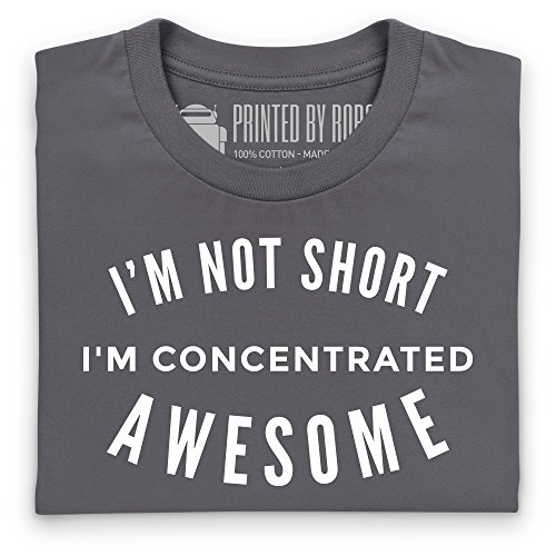Concentrated Awesome T-Shirt, Herren Anthrazit