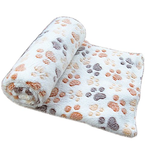 Befaith Doux chaud animal molleton couverture lit mat...