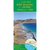 Cabo Verde: Sao Vicente 1 : 35000 (Serie di carta escursionistica per Capo Verde), Mindelo 1 : 7500