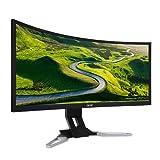 """Acer Predator XZ350CU - Monitor de 35"""" 1080x2560, color negro y plata"""