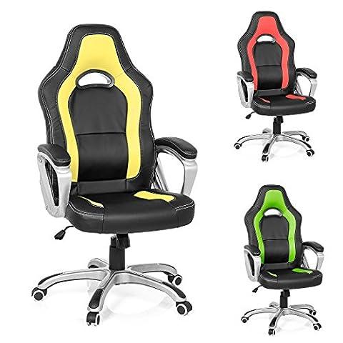 Santana Sports Chair, Executive Office Chair, Desk Chair, Ergonomic Swivel Study Computer Gaming Chair