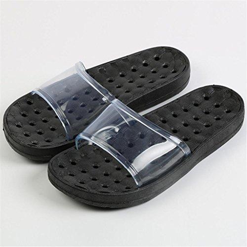 Coppie Ciabatte da bagno Doccia Comode pantofole antiscivolo Home Bagno Leaking Cool Sandals 2 paia E