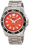 Orient Herren Analog Automatik Uhr mit Edelstahl Armband FEM75001MW