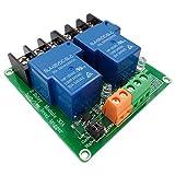 FengYun Modulo relè di trigger a 2 vie 30A ad alto e basso livello 5V controllo domotico intelligente