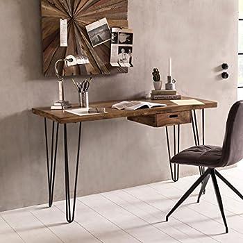 Mendler Schreibtisch HWC-A27, Bürotisch Computertisch