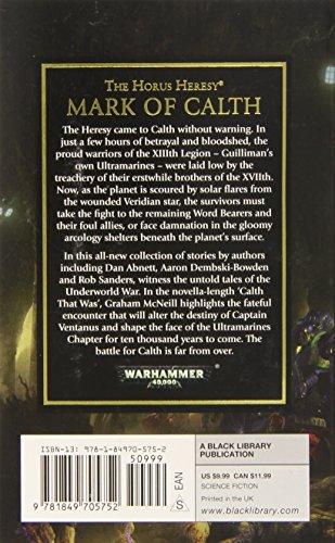 Warhammer 40K Mark Of Calth Mmpb (The Horus Heresy)