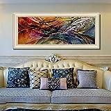 Juabc Decorazione Murale Immagini Astratte Parete Artistica Pittura su Tela per Soggiorno Home Decor Foto Poster E Stampe Vintage Pittura 60X80Cm Senza Cornice