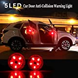 #10: THE. Wireless Car Door Open Automatic Red Strobe Warning Light For Anti Collision