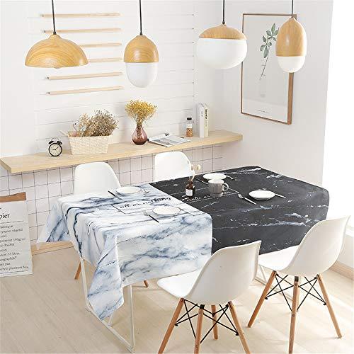 QWEASDZX Tischdecke Verdickt Baumwolle und Leinen Digitaldruck Antifouling Ölbeständige rechteckige Tischdecke Geeignet für Innen und Außen Mehrzwecktischdecke 110x110cm