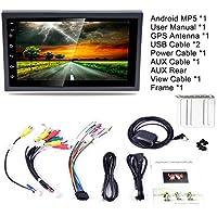 Coche MP5, reproductor multimedia para automóvil Navegador GPS Control del volante Radio FM/AM