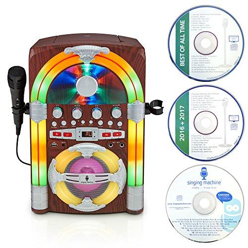 Singing Machine SML645BT Juke-Box Bluetooth Karaoke