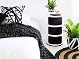 Round Medicine Cabinet KARTELL STYLE COMPONIBILI 3 TIER DRAWER BEDSIDE UNIT TABLE BATHROOM CABINET CADDY BEDROOM CHEST ROUND MODULAR KITCHEN UNIT BEDROOM/BATHROOM/OFFICE ROUND STORAGE SLIDE CABINET DRAWER UNIT