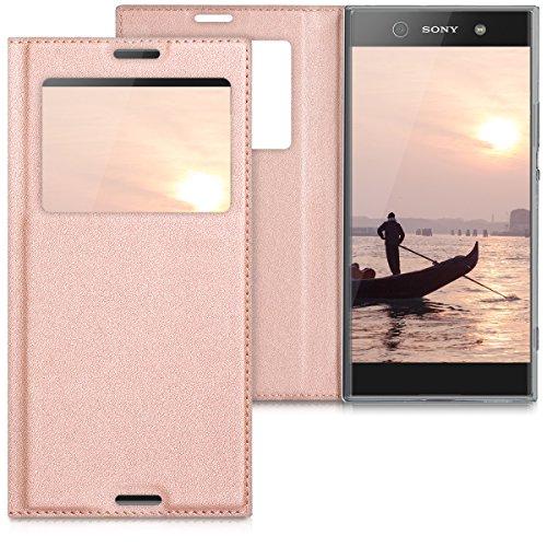 kwmobile Sony Xperia XA1 Ultra Hülle - Handyhülle für Sony Xperia XA1 Ultra - Handy Case Schutzhülle Klapphülle