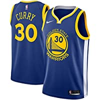 CCNBA GS Stephen-Curry 30 Swingman Men Jersey (Royal, S)