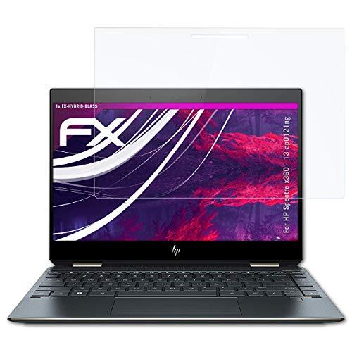 atFolix Glasfolie kompatibel mit HP Spectre x360-13-ap0121ng Panzerfolie, 9H Hybrid-Glass FX Schutzpanzer Folie