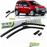 Valeo_group Valeo Juego de 2 escobillas de limpiaparabrisas Especiales para Fiat Panda 2012 > | 600