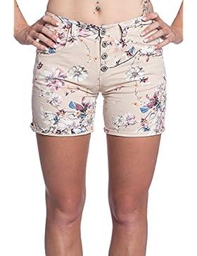 Abbino IG001 Corto Pantalones para Mujeres Colores Variados - Elegantes Casual Transición Otoño Invierno Femeninas...