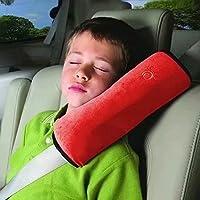 Waymeduo Bebé Niños Ajustable Correa De Seguridad Almohada Hombro Proteccion Cinturones De Seguridad De Coches Reposacabezas