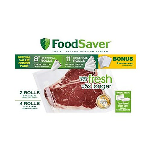 FoodSaver Roll Combo Pack by FoodSaver