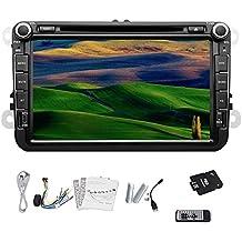 Pupug coche est¨¦reo DVD GPS Bluetooth IPod RDS TV Radio Para Volkswagen VW de 8 pulgadas