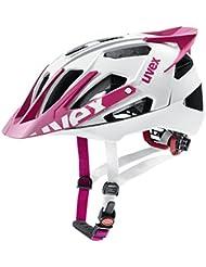 uvex quatro pro Mountainbike Helm - white pink mat