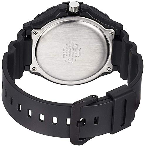 39e05a8d6bc0 Casio Reloj Analogico para Hombre de Cuarzo con Correa en Resina MRW -210H-7AVEF