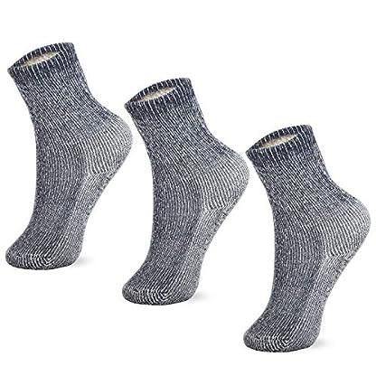 MERIWOOL Merino Wool Kids Hiking Socks for Children 3 Pairs 1