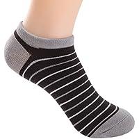 Kinlene 5 pares de hombres de fibra de bambú mocasines calcetines de barco Liner Low Cut No Show Calcetines