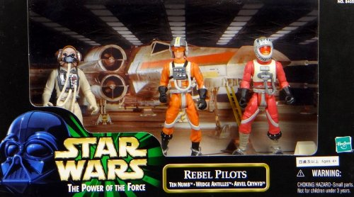 Rebel Pilots Set mit Ten Numb, Arvel Crynyd & Wedge Antilles - Star Wars