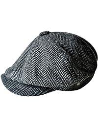 Homme grands Taille corps Vintage Cabbie Hat Gatsby lierre casquette irlandaise à la chasse routes Paperboy