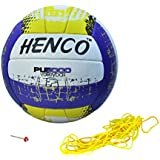 Henco 5000 PU Volleyball, Size 4 (Multi-Coloured)