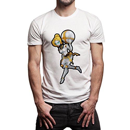 League Of Legends Champion Character Art Orianna Herren T-Shirt Weiß