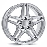 Borbet XR brilliant silver 7,5x16 ET40 5.00x112 Hub Bore 66.60 mm - Alu felgen