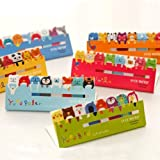 Sticker Post-It Bookmark Marker Memo Index Tab Sticky Note Cute Animal 1PCS 120 Pages