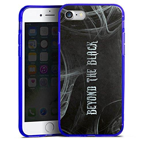 Apple iPhone 8 Silikon Hülle Case Schutzhülle Beyond the Black Fanartikel Merchandise Silikon Colour Case blau